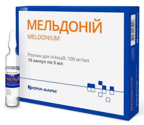 product-jurija-farm-ooo-ukraina-kiev-mel-donij-100-mg-ml-rastvor-5-ml-ampuly-№10-31