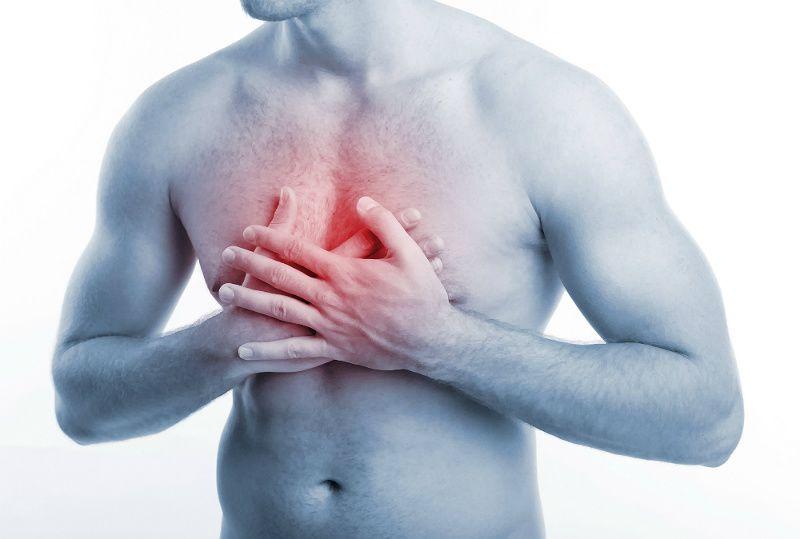 Болит в верхней части грудины